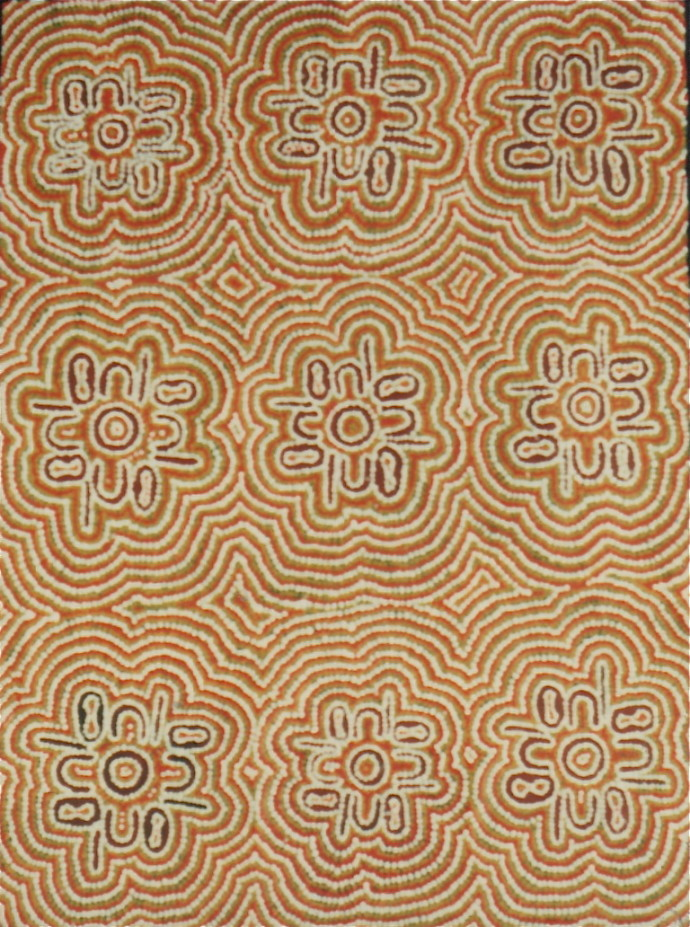 Judy Napaljarri Walker, Fire/Women Dreaming, 1991