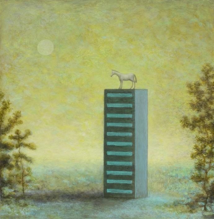 Alasdair Wallace, Horse, 2014