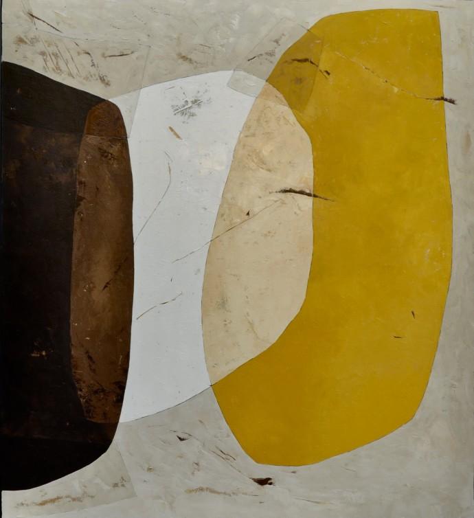 Richard Nott, Iris Yellow, 2018