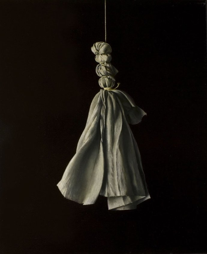 David Moore, Hanging Cloth, 2009/10