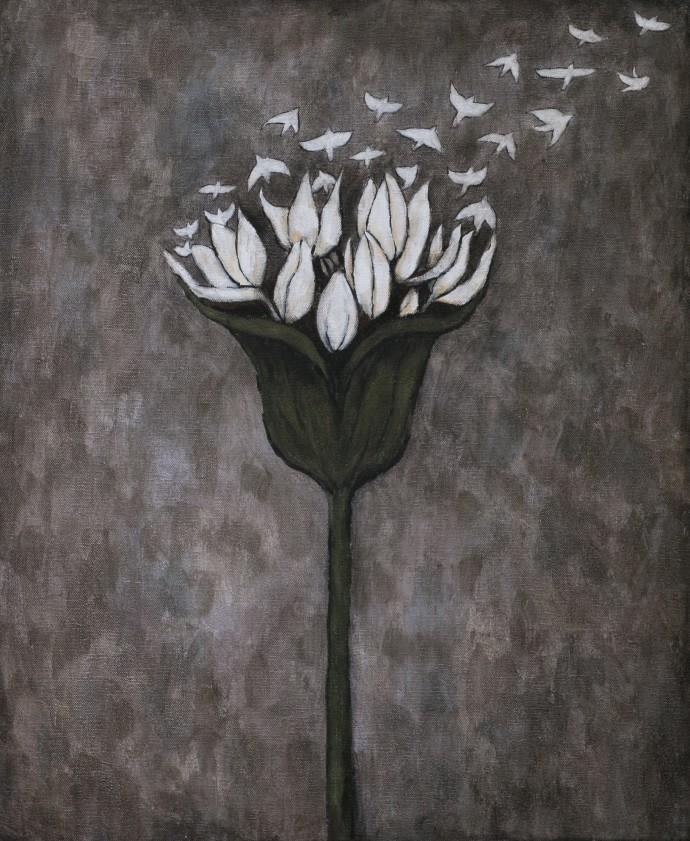 Rebecca Rebouché, Night Blooming, 2014