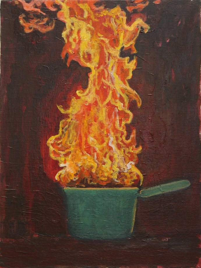 Anastasia Lennon, Pan Fire, 2013