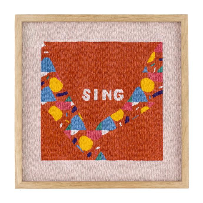 Rose Blake, Sing (Laudate Dominum in London Fields), 2018
