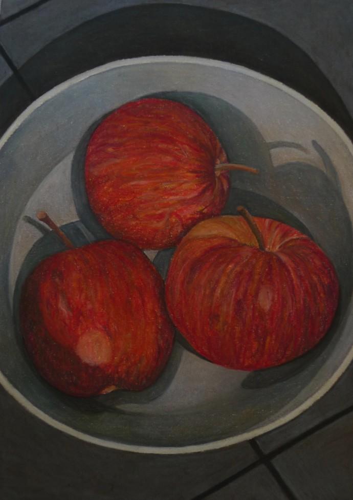 Aaron Kasmin, Apples, 2015