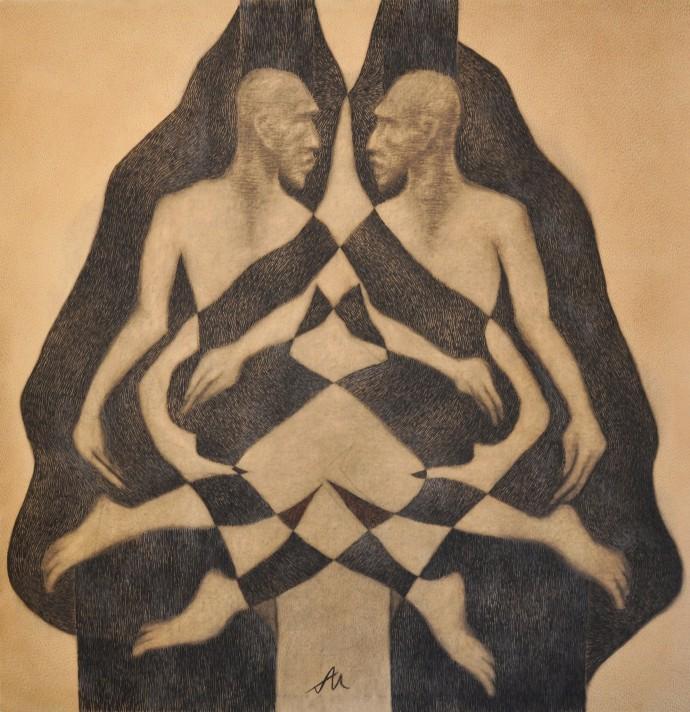 Thomas Allen, Focus of Two Infinities (Large), 2014
