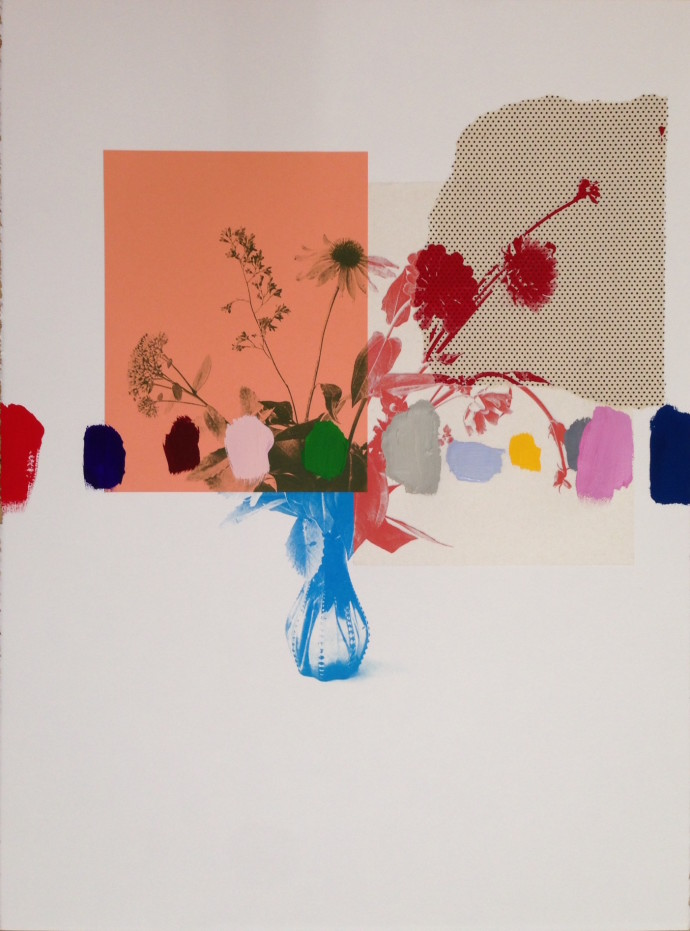 Emily Filler, Paper Bouquet I, 2016