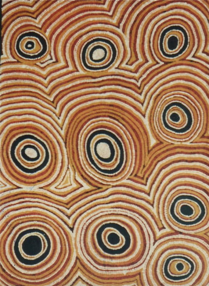 Rosie Tasman Napurrula, Seed (Ngurlu) Dreaming, 1991