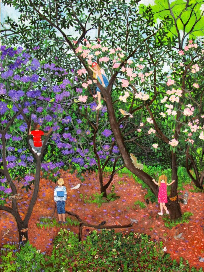 Emma Haworth, Study Climbing Trees, 2013