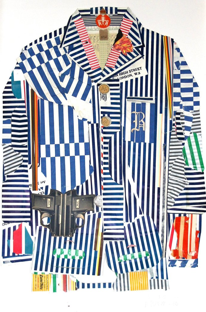 Peter Clark, Stripes R A Must This Season, 2014