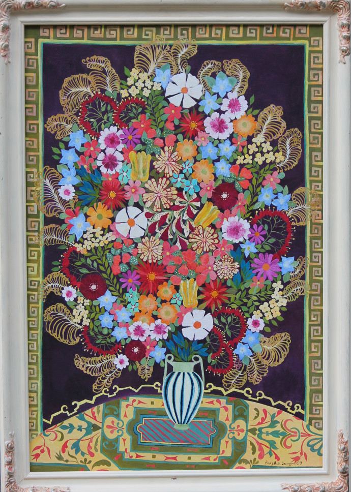Hepzibah Swinford, Flowers With Feathers, 2009