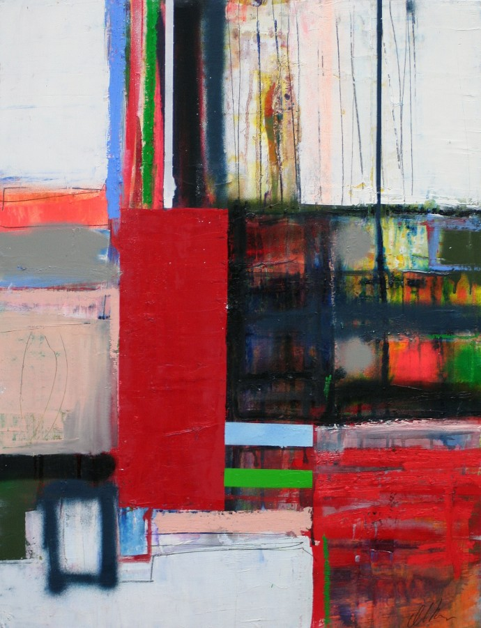 <span class=&#34;title_and_year&#34;><em>Untitled 18</em>, 2015<span class=&#34;title_and_year_comma&#34;>, </span></span><span class=&#34;medium&#34;>oil and spray paint on paper<span class=&#34;medium_comma&#34;>, </span></span><span class=&#34;dimensions&#34;>65 x 50 cm<br/>25 5/8 x 19 3/4 in</span>
