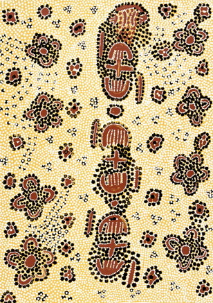Molly Tasman Napurrurla, Wild Bush Plum