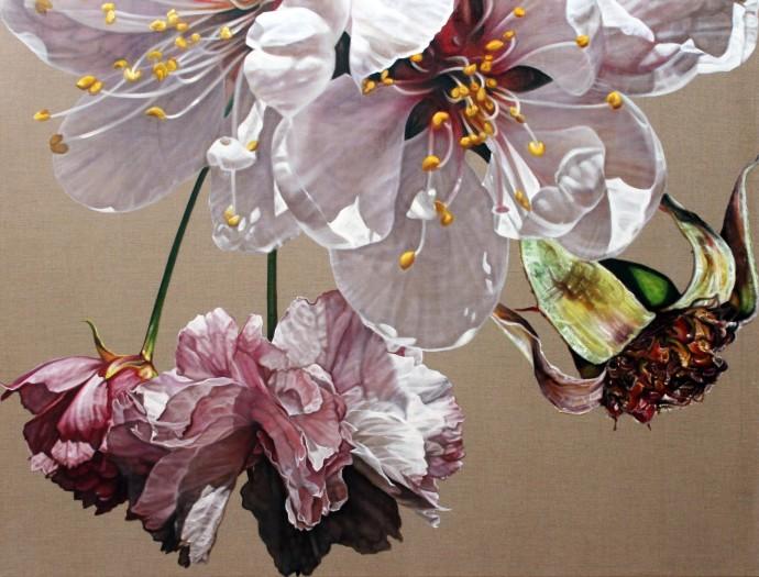 Anne Middleton, Walk in radiance. The pollen path., 2015