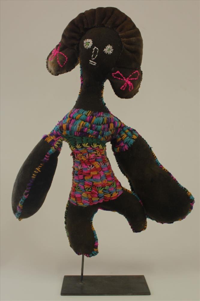 Trudy Inkamala, Girl With Ribbons, 2015