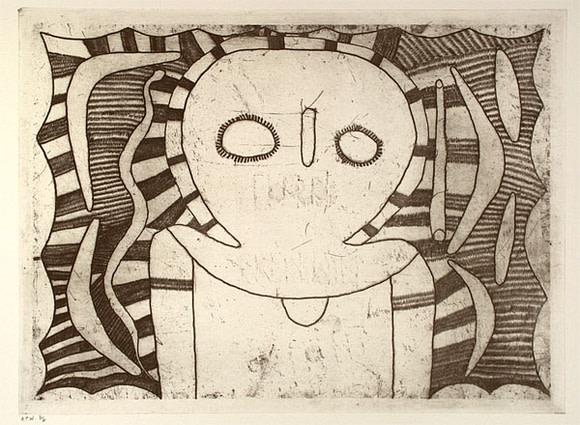 Louis Karadada, Wandjina figure, 1998