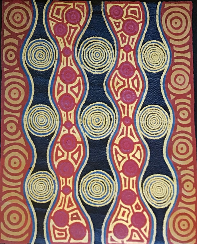 Malcolm Jagamarra, Ngapa (Water), 2001