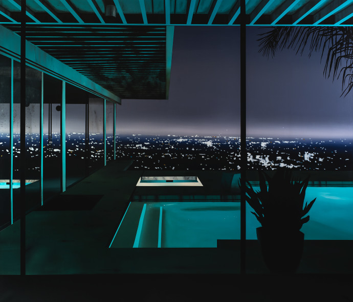 Laurence Jones, Night Pool, 2019