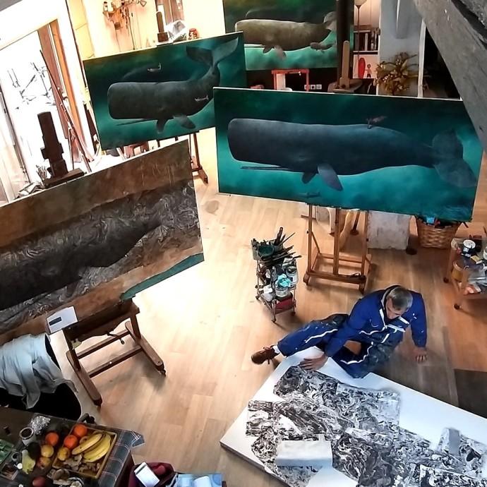 Sylvain Lefebvre, Artist Studio, 2019