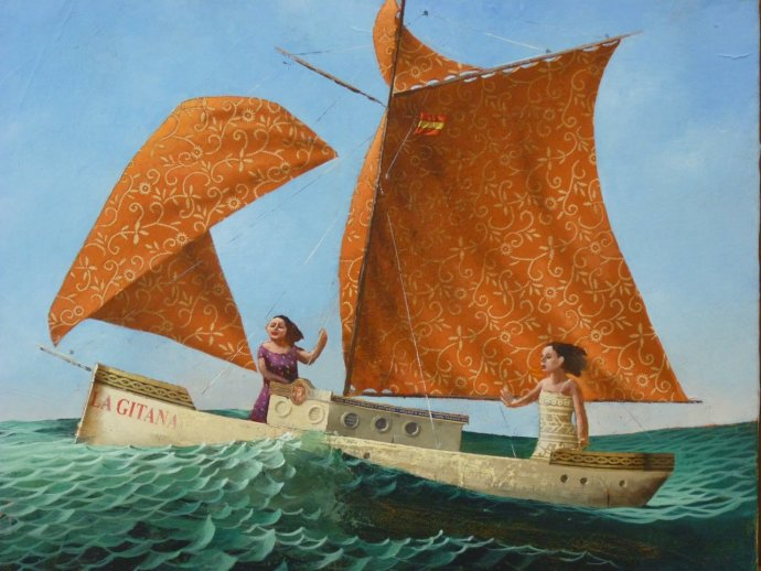 Sylvain Lefebvre, The Two Gipsies, 2013