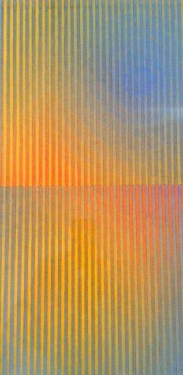 <div class=&#34;artist&#34;><strong>David Whitaker</strong></div><div class=&#34;title&#34;><em>Reflection No. 2</em>, 2004</div><div class=&#34;medium&#34;>watercolour on paper</div><div class=&#34;dimensions&#34;>61 x 38 cm</div>