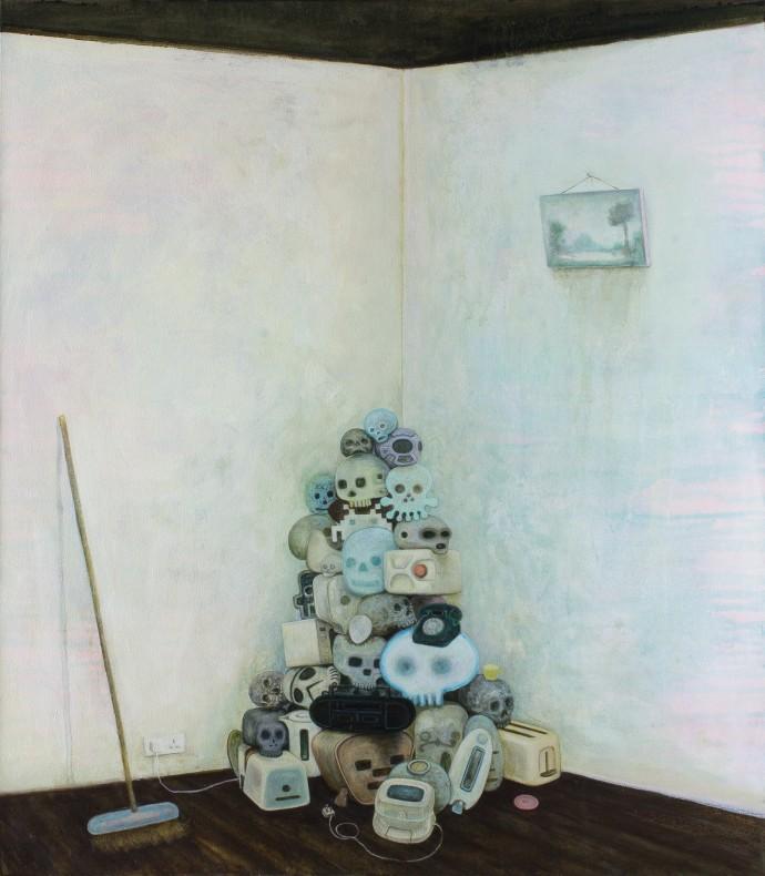 <div class=&#34;artist&#34;><strong>Alasdair Wallace</strong></div><div class=&#34;title&#34;><em>Cowp</em>, 2016</div><div class=&#34;medium&#34;>acrylic on canvas</div><div class=&#34;dimensions&#34;>80 x 70 cm<br>31 1/2 x 27 1/2 in</div>