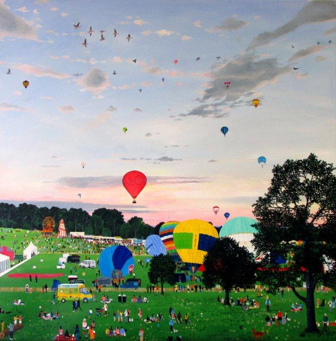Emma Haworth, Balloon Fiesta, 2014