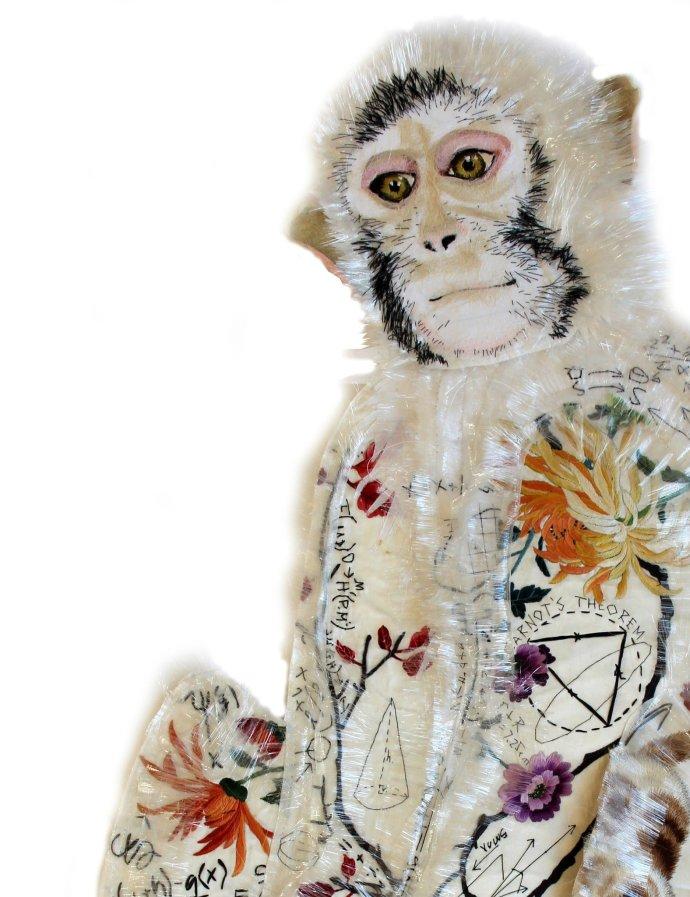 Karen Nicol, Monkey Puzzle Print, 2013