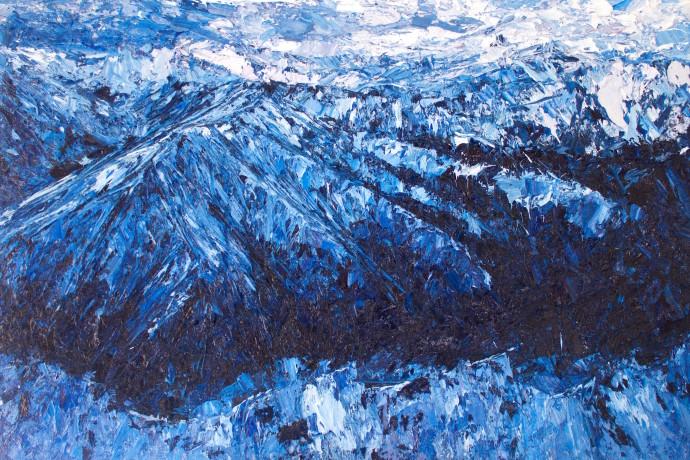 Holly Zandbergen, Richardson Mountains, 2017