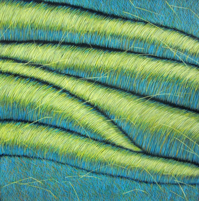 Yvonne Mills-Stanley, Grass Memories III, 2014