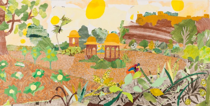 <div class=&#34;artist&#34;><strong>Dione Verulam</strong></div><div class=&#34;title&#34;><em>Planting For Curry (Ramathra)</em>, 2016</div><div class=&#34;medium&#34;>collage</div><div class=&#34;dimensions&#34;>41 x 76 cm<br>16 1/8 x 29 7/8 in</div>