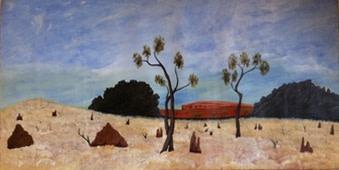 Mervyn Street, Painting Rocks Story, 2010