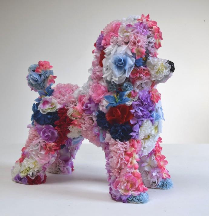 Robert Bradford, Flower Poodle, 2016