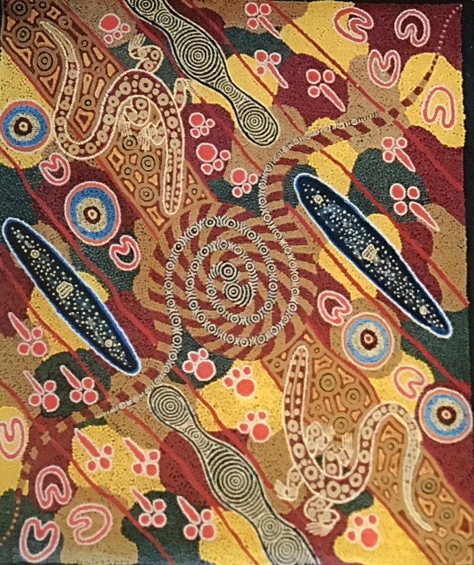 Malcolm Jagamarra, Pila Warna Warna , 2001