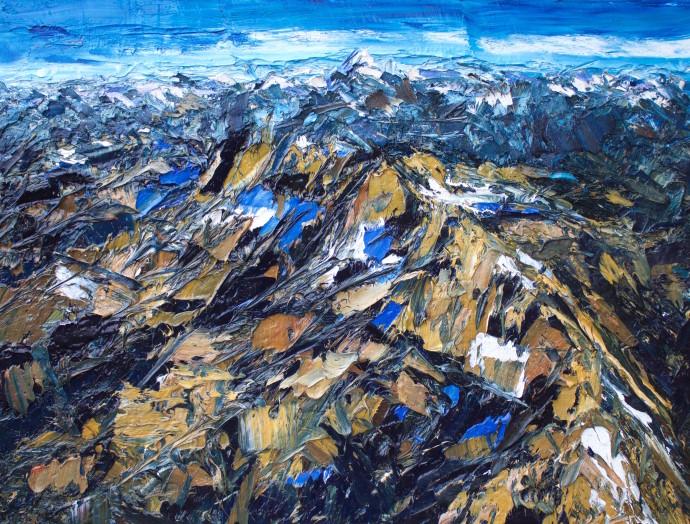 Holly Zandbergen, The Olivine Range , 2017