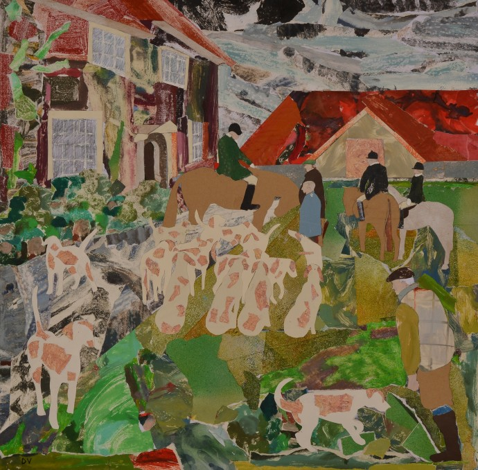 <div class=&#34;artist&#34;><strong>Dione Verulam</strong></div><div class=&#34;title&#34;><em>Dreaming of Hounds at Maynes Farm</em>, 2014</div><div class=&#34;medium&#34;>collage</div><div class=&#34;dimensions&#34;>61 x 61 cm<br>24 x 24 in</div>