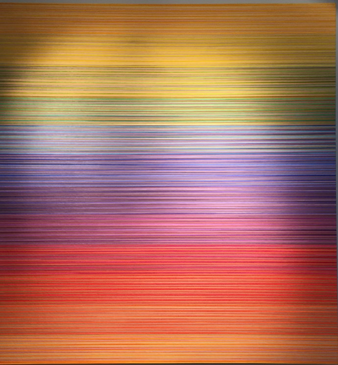 <div class=&#34;artist&#34;><strong>David Whitaker</strong></div><div class=&#34;title&#34;><em>Rapid Green</em>, 1996/1998</div><div class=&#34;medium&#34;>oil on canvas</div><div class=&#34;dimensions&#34;>183 x 173 cm<br>72 1/8 x 68 1/8 in</div>