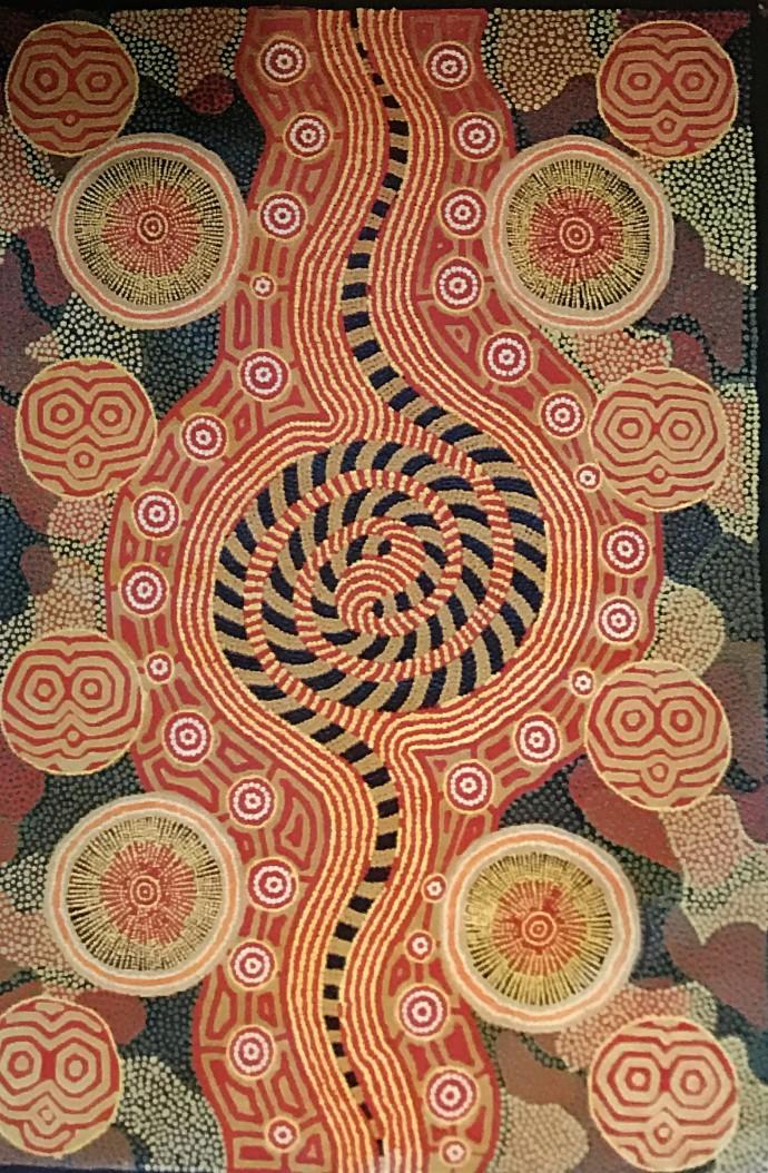 Malcolm Jagamarra, Pila Warna Warna and Warlu , 2001
