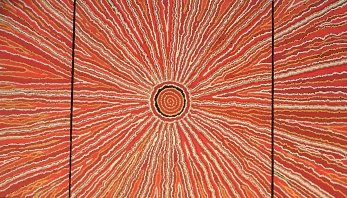 Malcolm Jagamarra, Inapaku (Lake Surprise) , 2001