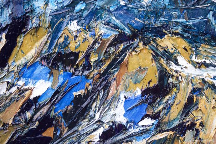 Holly Zandbergen, The Olivine Range (Detail 1), 2017