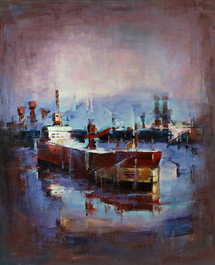 <div class=&#34;artist&#34;><strong>Tilemachos Kyriazatis</strong></div><div class=&#34;title&#34;><em>Chloe</em>, 2017</div><div class=&#34;medium&#34;>oil on canvas</div><div class=&#34;dimensions&#34;>160 x 130 cm<br>63 x 51 1/8 in</div>