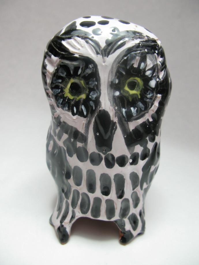Aaron Murray, Terracotta Owl 4, 2018