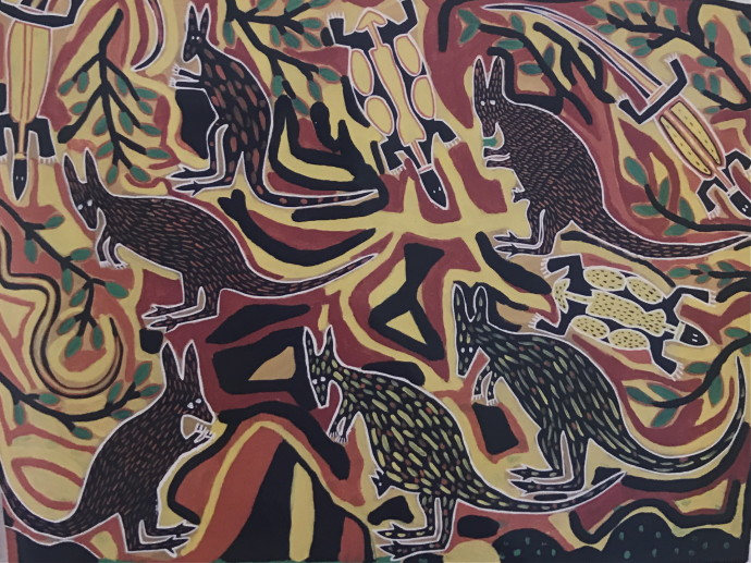 Amy Johnson, Six Kangaroos , 1994
