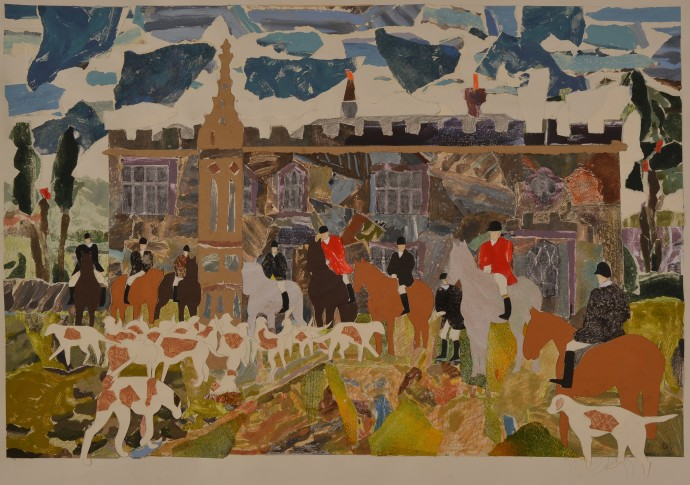 <div class=&#34;artist&#34;><strong>Dione Verulam</strong></div><div class=&#34;title&#34;><em>Surtees Society at Hamsterley Hall</em>, 2014</div><div class=&#34;medium&#34;>collage</div><div class=&#34;dimensions&#34;>51 x 76 cm<br>20 x 30 in</div>