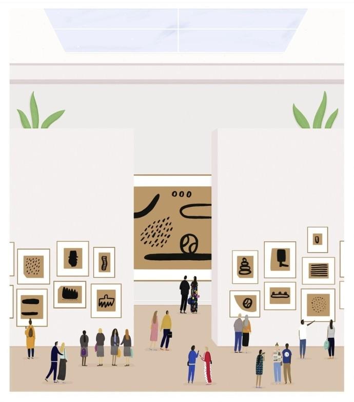 <div class=&#34;artist&#34;><strong>Rose Blake</strong></div><div class=&#34;title&#34;><em>Works On Paper</em>, 2015</div><div class=&#34;medium&#34;>unique hand-finished print</div><div class=&#34;dimensions&#34;>86 x 76 cm (unframed)</div><div class=&#34;edition_details&#34;></div>
