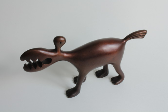 Lucy Casson, Small Bronze Animal, 2017