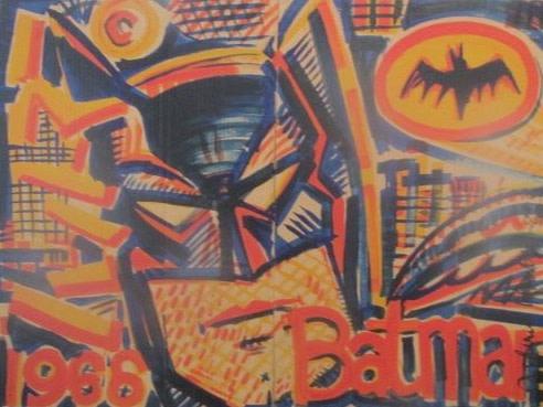 Andrew Mockett, Bat Cards, 2014