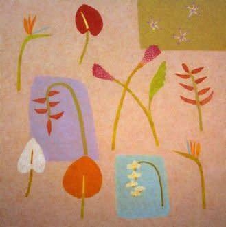 Abigail McLellan, Tropical Flowers, 2006