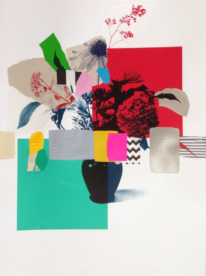 <div class=&#34;artist&#34;><strong>Emily Filler</strong></div> 2017<div class=&#34;title&#34;><em>Paper Bouquet (red + turquoise) </em>, 2017</div><div class=&#34;medium&#34;>mixed media on paper</div><div class=&#34;dimensions&#34;>55.9 x 76.2 cm<br>22 x 30 in</div>