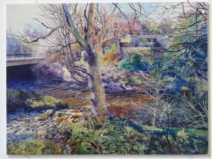 David Forster, A clear brook on which the sun sparkled (Collinton, Edinburgh), 2014