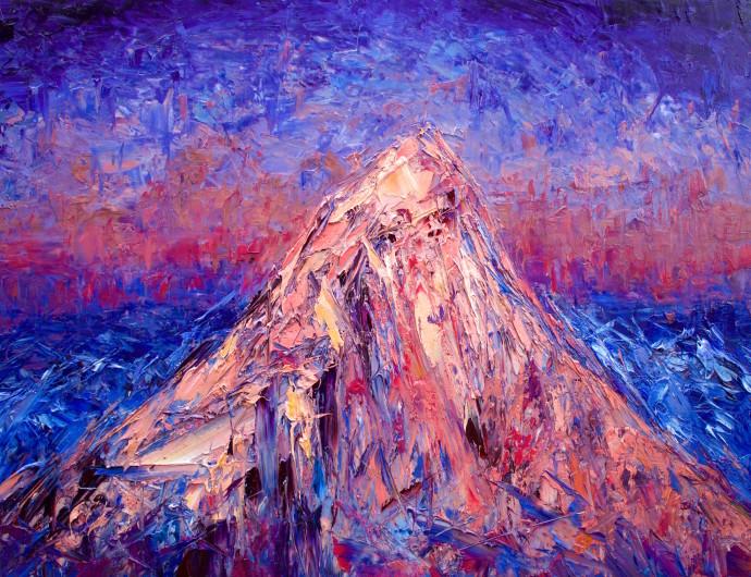 Holly Zandbergen, Mount Aspiring From the West, 2019